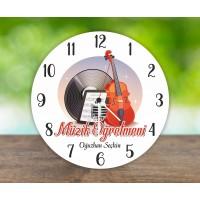Müzik Öğretmeni Duvar Saati