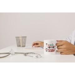 Acil Tıp Teknisyeni Tasarımlı Kupa Bardak - Erkek