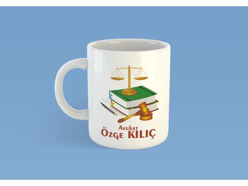 Avukat Tasarımlı Kupa Bardak -2-