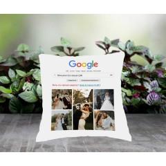 Google Temalı Kişiye Özel Yastık