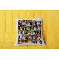 25 Fotoğraflı Kolaj Yastık