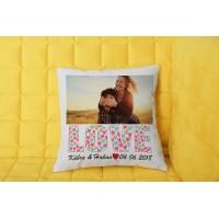 Love Tasarımlı Yastık - 2